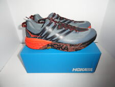 Hoka One Speedcoat 3 Gray and Orange  size 13 M