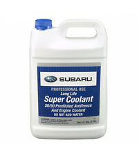 NEW 1 Gallon Genuine Anti-Freeze / Coolant Blue Fits Subaru Forester Legacy