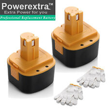 2x 12V NiCd Battery For Lincoln PowerLuber 12 Volt Grease Gun LIN-1201 1200 1240