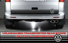 Volkswagen VW Rear Stripe Decals Transporter Campervan Vehicle Graphic