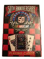 New Bicycle Playing Cards Nascar 50th Anniversary Sports  Ephemera Collectible