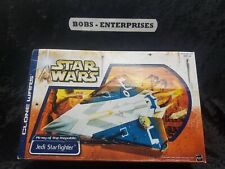 Star Wars Clone Wars - Blue Jedi Starfighter b-84
