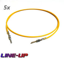 5x Reparaturleitung Einzelleitung Pin Kabel wie 000979020E Audi VW BMW Mercedes