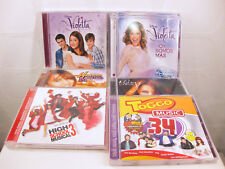 8xCD Paket - Miley Cyrus + Violetta + High School Musical 3 + Hannah Montana ...