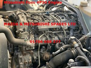 MITSUBISHI FUSO 4P10 ENGINE 2015 LOW MILEAGE COMPLETE ENGINE 60257 MILES ONLY