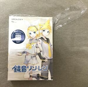 SALE VOCALOID 4 Kagamine Rin Len V4X PC Software Japan Import New With Tracking