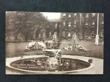 RPPC Military #M72 : 5th Northern General Hospital Leicester: The Fish Pond