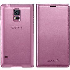 Custodia flip originale Samsung GALAXY S5 SM G900 F Mobile Telefono Cellulare Copertura Originale