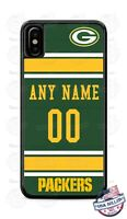 GREEN BAY PACKERS FOOTBALL CUSTOMIZED PHONE CASE COVER FOR iPHONE SAMSUNG LG