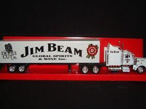 JIM BEAM KENWORTH W900 DEVILS CUT RIG TRUCK 1:43 CODE 3
