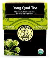 Dong Quai Tea by Buddha Teas, 18 tea bag 1 pack