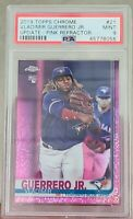 Vladimir Guerrero Jr ROOKIE PSA 9 MINT Toronto Blue Jays 2019 Topps Chrome
