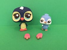 LPS Littlest Pet Shop Snack Time With Mommy Penguins Cutest Pets # 2495 2496