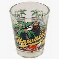 HAWAII 3 VIEW SHOT GLASS SHOTGLASS