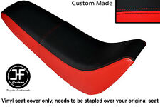 BLACK & RED AUTOMOTIVE VINYL CUSTOM FITS KINROAD XT 50 GY DUAL SEAT COVER ONLY