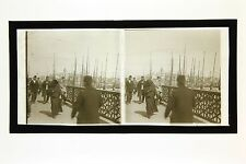 Constantinople Istanbul Turquie Turkey Grande plaque stereo
