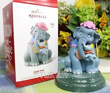 Hallmark Disney Dumbo ornament 2014 Magic Plays Baby Mine