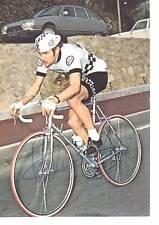 CYCLISME carte CHARLES ROUXEL  (equipe peugeot  esso 1976)  signée