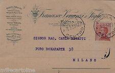 """# ROMA: testatina- """"BICICLETTE-MOTOCICLETTE"""" - F. VENANZI & FIGLI"""