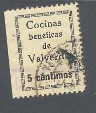 C.R VALVERDE DEL CAMINO ( HUELVA) 5 CTS SIN ACENTO