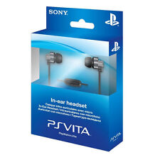 BRAND NEW GENUINE SONY PS VITA IN EAR HEADSET - ALSO COMPATIBLE WITH PS4