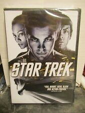 STAR TREK (2009) -  FACTORY SEALED DVD !!! Pine Quinto Reboot !! oop Enterprise