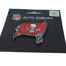 New NFL Tampa Bay Buccaneers Auto Car Truck Heavy Duty Metal Color Emblem