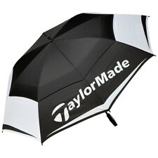 "TaylorMade Tour Double Canopy Umbrella 64"" Black/White 2019 Model"