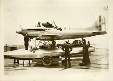 """COUPE SCHNEIDER D'AVIATION 1931"" Photo originale G. DEVRED (Agce ROL)"
