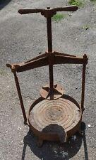 antikes Gusseisen Gestell von Saftpress Beerenpresse