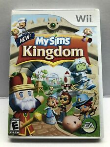 MySims Kingdom (Nintendo Wii, 2008) Clean & Tested Working - Free Shipping