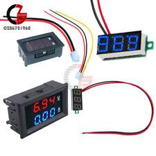 Dc 100v 10a Blue Red Led Amp Voltmeter Ammeter Dual Digital Volt Amp Meter