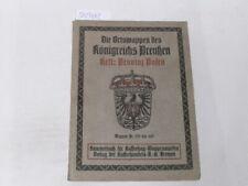 Hupp, Otto:Die Ortswappen des Königreichs Preussen. Heft: Provinz Posen
