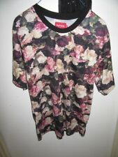 Supreme SUPREME floral t shirt. unisex tee ex cond. XXL SALE ITEM