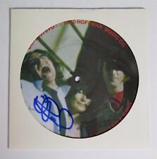 "David Peel JOHN LENNON Signed Autograph ""In My Life"" 45rpm 7"" Picture Disc Vinyl"