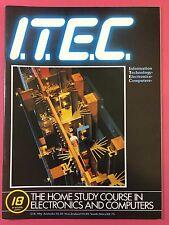 I. T. Decir C 1980's Electrónica & Ordenador Tecnología Revista - Part 18