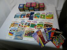 Atari 2600 Activision lot of 22 16 manuals 8 catalogs Kaboom Pitfall keystone k