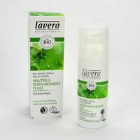 (14,98/100ml) Lavera Hautbildverfeinerndes Fluid Bio Minze vegan 50 ml