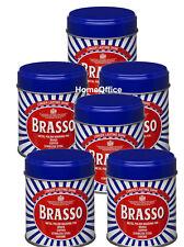 Brasso Wadding Braso  - 6 Tins