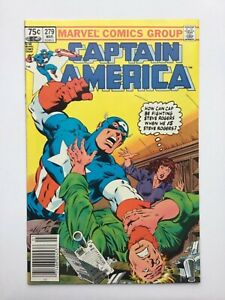 Captain America Canadian Price Variant #279  1983