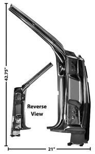 1966 Chevrolet Chevelle Door Hinge Pillar Assembly - RH New