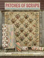 Patches of SCRAPS~EDYTA SITAR~Laundry Basket~Quilt Pattern~Antique Quilts Book