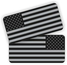 Black Ops American Flags | Stealthy Hard Hat Decals | Motorcycle Helmet Stickers