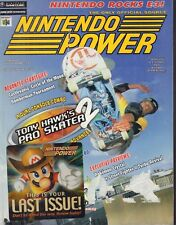 Nintendo Power Magazine Tony Hawk's Pro Skater 2 July 2001 021318nonr