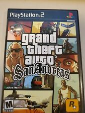 Grand Theft Auto: San Andreas - Playstation 2 Ps2 Game Complete w/ Map & Tested