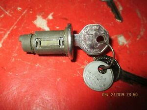 CHEVROLET/GMC TRUCK -CADILLAC-OLDS-PONTIAC-BUICK 1942-66- IGNITION-KEY CYLINDER