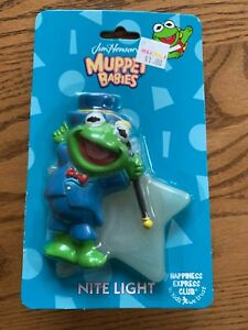 Vintage Jim Henson's Muppet Babies Nite Light - Kermit - New