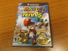Mario Power Tennis Nintendo GameCube Video Game Complete w/ Manual & Case