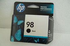 HP OEM 98 Black Ink Cartridge D4145 5940 H470 D5060 425V 420-Pages C9364WN NEW