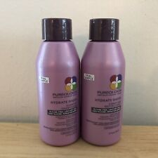 Pureology Hydrate Sheer Shampoo & Conditioner Travel Size 1.7oz/50ml New